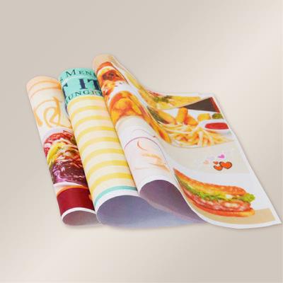 垫餐纸 餐台纸 点菜纸 点餐纸